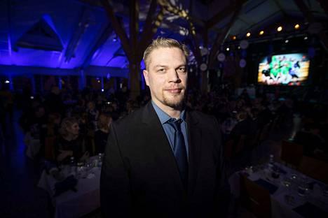 Kiekonheittäjä Juha Lahdenranta voitti jokeripalkinnon.
