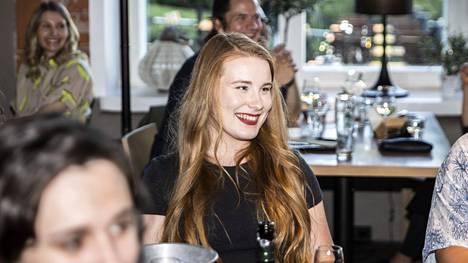 Aamulehti kuvasi Iiris Suomela vihreiden kuntavaalivalvojaisissa ravintola Tampellassa 13. kesäkuuta.