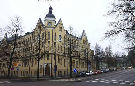 Svenska Samskolan i Tammerfors nousi Pirkanmaan parhaaksi STT:n pienten lukioiden vertailussa. Arkistokuva.