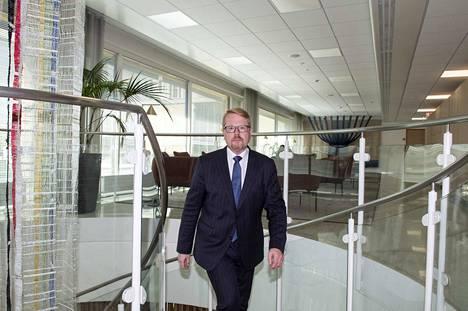 Ilkka Salmi aloitti sisäministeriön kansliapäällikkönä heinäkuussa 2018.