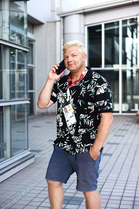 Marko Lempinen raportoi olympiakisoista Tokiossa.
