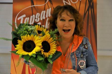 """Vicky Rosti sai arvostetun Iskelmä-Finlandia -palkinnon. """"Olen suunnattoman iloinen ja ylpeä""""."""
