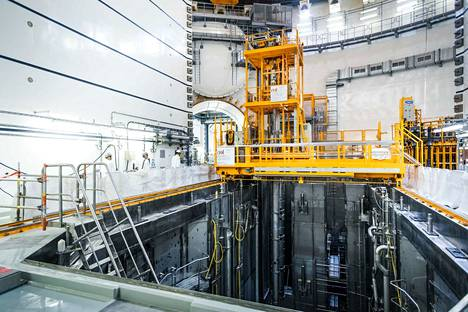 Valmistumassa. Stuk aikoo tarkastaa ennen ydinpolttoaineen lataamista reaktoriin, että OL3:n poikkeamahavainto on selvitetty.