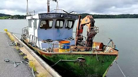 Vene on ollut Röölänrannassa kesästä 2019 saakka.