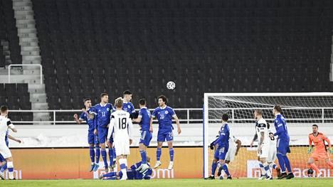 Suomi pelasi tasan Bosnia ja Hertsegovinaa vastaan Olympiastadionilla MM-karsinnassa maaliskuussa.