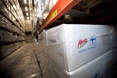 Atria aloitti sianlihan viennin Kiinaan vuonna 2017. Ensimmäiset pakastekontit lähtivät matkaan Seinäjoelta.