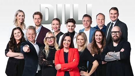Diili-ohjelmaan on valittu 14 uutta kilpailijaa.