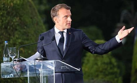 Ranskan presidentti Emmanuel Macronin mukaan 14 maata on hyväksynyt Ranskan ja Saksan pohjaehdotuksen vapaaehtoiseksi järjestelyksi.