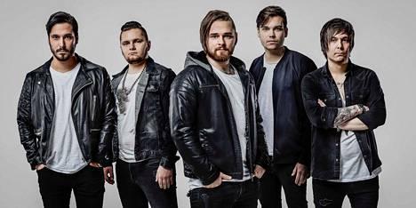 Bändi näyttää promokuvassaan nykyään tältä. Silakkamarkkinoilla bändin jätkät olivat vielä teinejä.