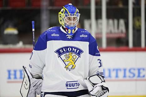 Lukko-vahti Lassi Lehtinen, 20, pelaa lauantaina ensimmäisen A-maaottelunsa.