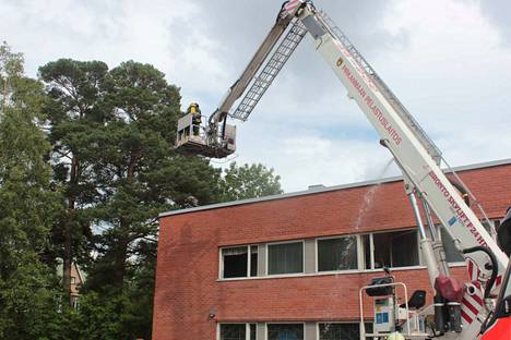 Tulipalo sai alkunsa todennäköisesti liesituulettimesta.