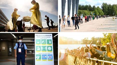 Tartuntamäärä on ollut Pirkanmaalla nousussa. Viime viikolla kerrottiin kahteen otteeseen koko kesän korkeimmista päiväkohtaisista luvuista. Tokiossa Japanissa puolestaan tartuntamäärät ovat kääntyneet nousuun olympialaisten alettua.