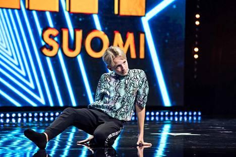 Leevi Lehtonen vakuutti Talent Suomen tuomariston esityksellään.