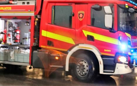 Pelastuslaitos ulosajosta hälytyksen tiistaina kello 16.23.