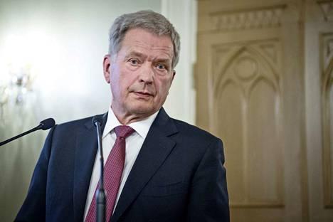 Presidentti Sauli Niinistö otti puheessaan kantaa vihapuhekeskusteluun.