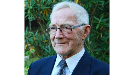 Helge Heikkilä oli vielä 85-vuotisjuhliensa aikaan virkeässä kunnossa.