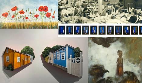 Taidetila Raamin näyttelyvuosi 2022 on nokialainen, monipuolinen ja voimakas, Nokian kaupunki kertoo tiedotteessa.