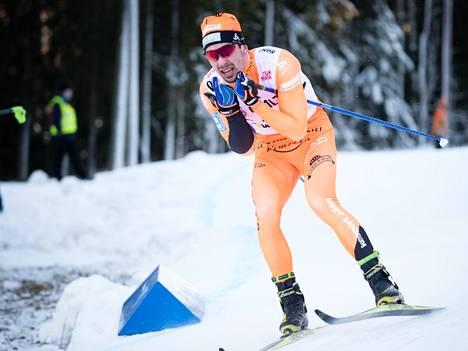 Ristomatti Hakola palasi kilpaladulle noin kuukauden kilpailutauon jälkeen.