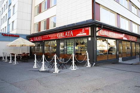 Galata Kebab House sijaitsee Tampereella Näsilinnankadulla.