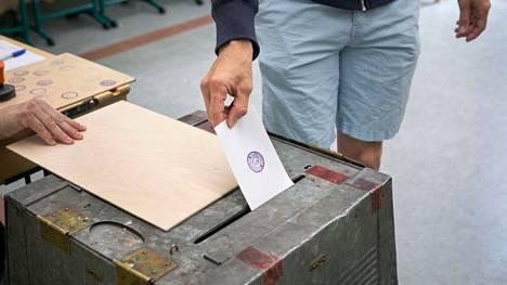 Kuntavaalien vaalipäivää vietettiin sunnuntaina 13.6.