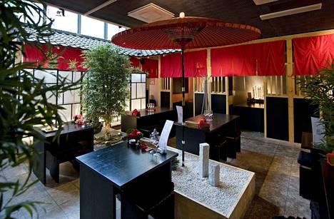 Ravintola Maruseki on yksi Tampereen ensimmäisistä japanilaisista ravintoloista. Arkistokuva vuodelta 2011.
