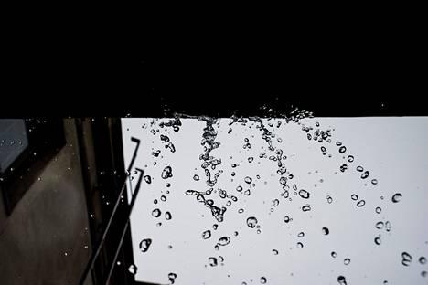 Sunnuntaina luvassa voi olla jopa sateita.