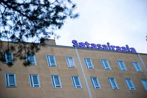 Sairaalamäen kiivas rakentaminen jatkuu, kun Satasairaalaan rakennetaan parhaillaan uutta S-osastoa.