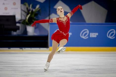 Viveca Lindfors lopettaa urheilu-uransa.