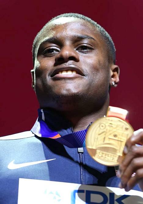 Christian Colemanille annettiin kahden vuoden kilpailukielto.