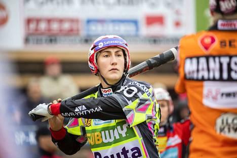 Susanna Puisto on kuukauden pelaaja.
