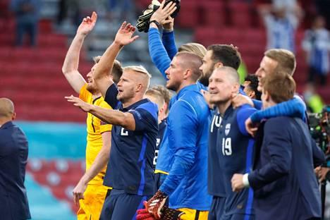 Suomen joukkue aloitti EM-kisat 1–0-voitolla Tanskasta.