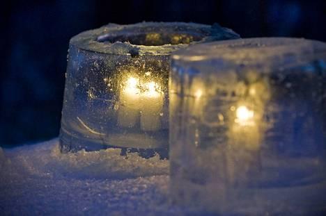 Jäälyhty on talvi-illan komistus ja helppo tehdä itse.