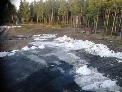 Pihlajalinna Areenan jäähallihilettä 21. tammikuuta 2020.