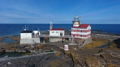 Märketin majakkasaari sijaitsee keskellä Pohjanlahden suuta. Se on ollut vaaranpaikka laivoille jo vuosisatoja.