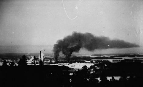 Mäntän pommitus 20.1.1940.