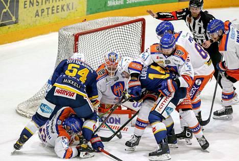 Mikkelin Jukurit oli Tapparaa ahneempi kamppailutilanteissa.