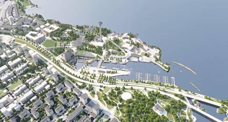 Kaupunki haluaa muuttaa Särkänniemen huvipuistoalueen ympärivuotiseksi elämyskeskukseksi. Kortelahden pohjukkaan tulee 19-kerroksinen hotelli, kylpylä ja järvikeskus. Lahden yli rakennetaan kevyen liikenteen silta