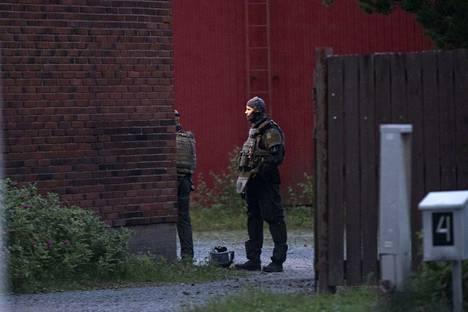 Poliisilla oli keskiviikkona Ulvilassa kaksi poliisioperaatiota.