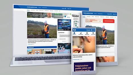 Tässä jutussa opastetaan kirjautumaan Kankaanpään Seudun uudistuneille verkkosivuille.