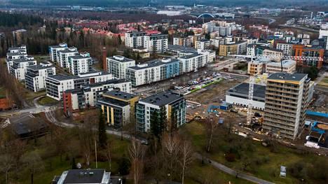 Asuntojen hintakehitys on Tampereen Härmälän-Rantaperkiön alueella koko maan kärkeä.