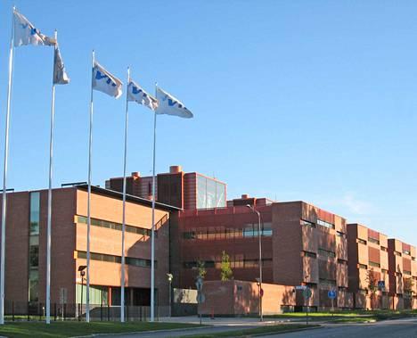 Tyhjennetty työtila sijaitsee Espoon Otaniemessä.