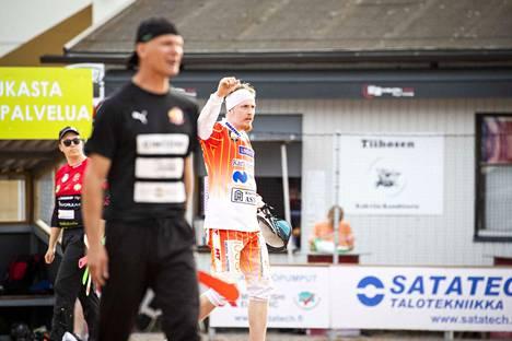 Mattias Kitola palasi UP-V:n lautasen ääreen Pöytyä-pelissä.