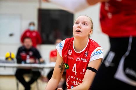 Roosa Laakkonen teki oman piste-ennätyksensä LiigaPlokia vastaan.