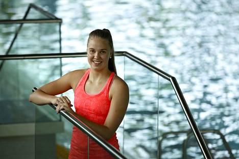 Anniina Murto löysi palon uintia kohtaan huomattuaan lahjakkuutensa.