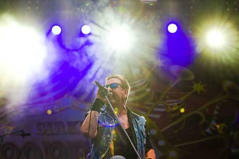 Popeda esiintymässä viime kesän Tammerfesteillä.