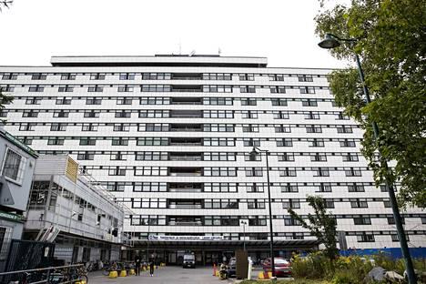Tampereen yliopistollisen sairaalan B-rakennuksesta on löytynyt mikrobikasvustoa.