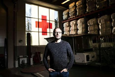 Ari Mäntyvaara sai viime syksynä Vuoden esimies -palkinnon. Myös Kansainvälinen Punainen Risti on pannut merkille suomalaisen logistiikka-asiantuntijan kyvyt.