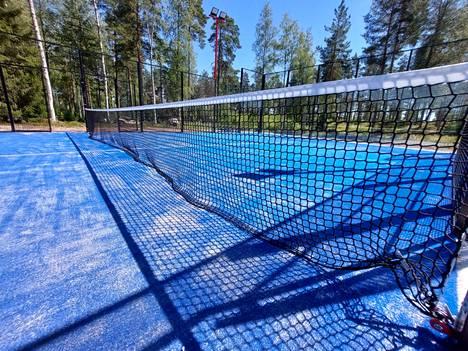Kankaanpään ensimmäinen padelkenttä löytyy Kankaanpään liikuntakeskuksesta.