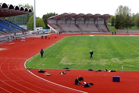 Porilaisten toiveissa on, että stadionille voisi kesäkuussa kokoontua jo enemmän kuin 50 henkilöä.