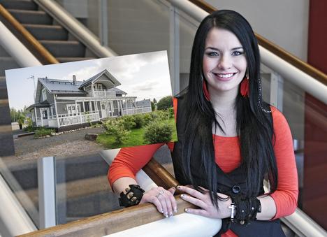 Anneli Mattilan talo sijaitsee Karviassa Satakunnassa.